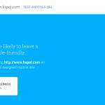 Hasil Cek pada Tes Kecepatan website di Mobile Test