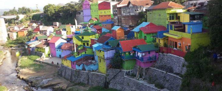 Wisata Baru 1000 Rumah Warna Warni - Kota Balikpapan - Kaltim