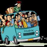 Gambar Ilustrasi Mudik dengan Mobil