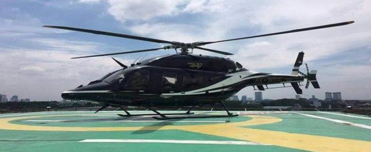 Mudik dengan Transportasi Helikopter