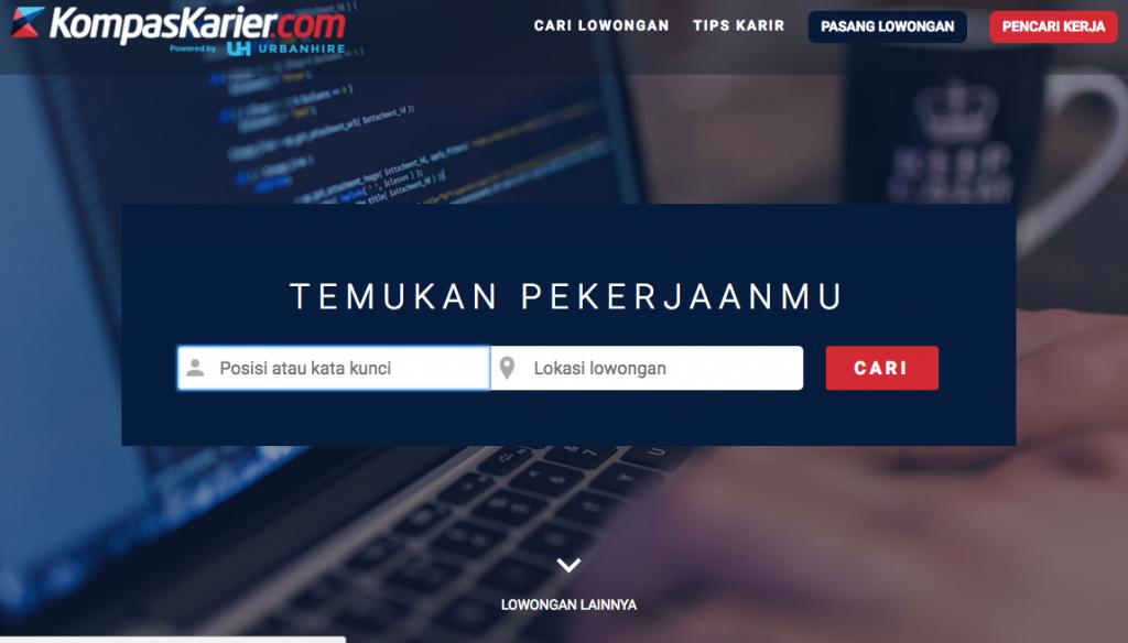Situs Web Kompas Karier