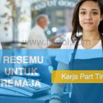 Resume Kerja part time remaja