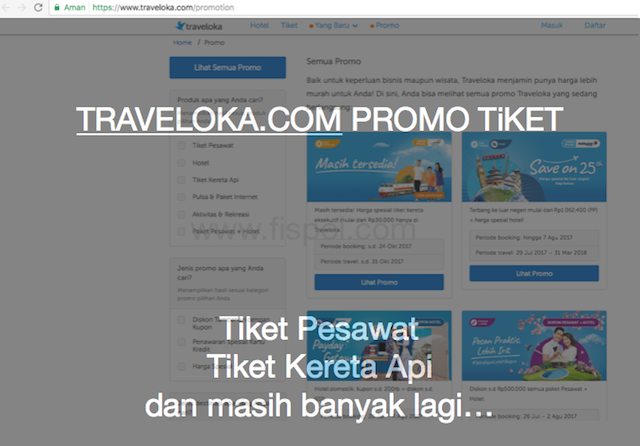 Tiket Promo Traveloka