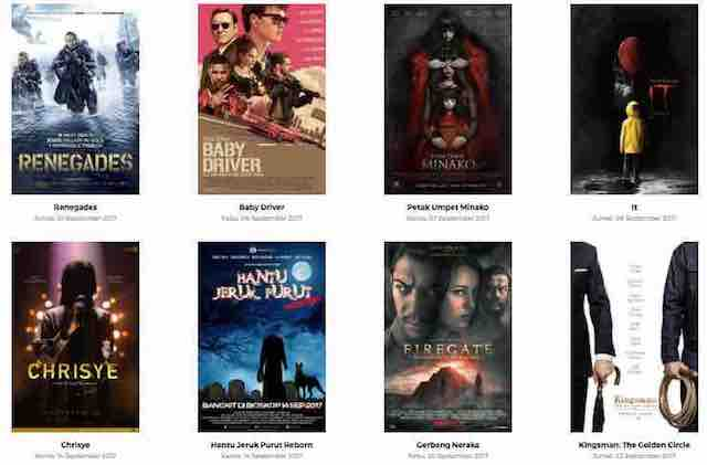 Film Bioskop Terbaru September 2017