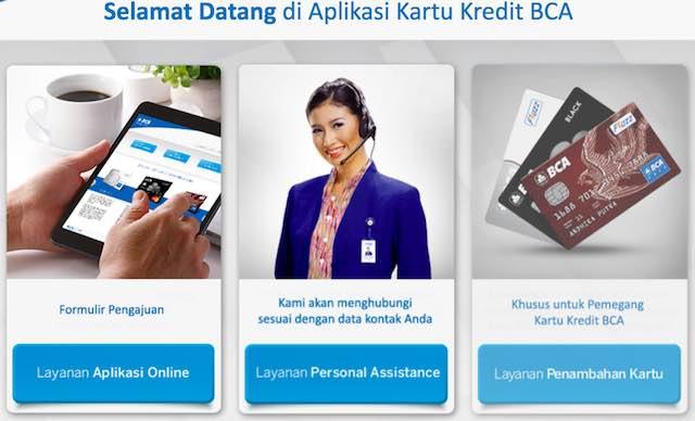 Formulir Aplikasi Kartu Kredi BCA online