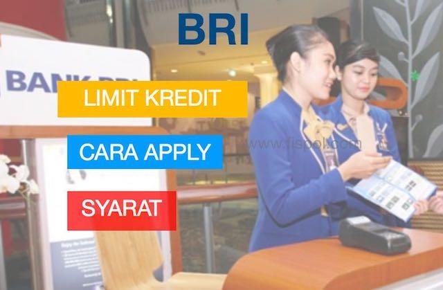 Cara dan Syarat serta Limit diberbagai jenis Kartu Kredit BRI