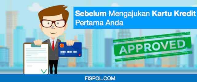 Mangajukan kartu kredit pertama
