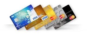 Berbagai jenis kartu kredit BRI