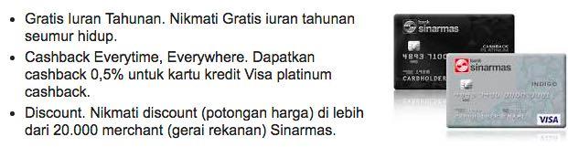 Kartu kredit Sinarmas