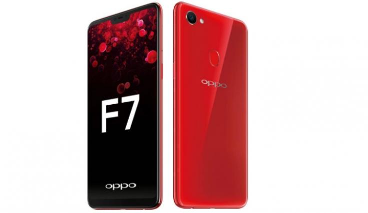 Oppo F7 dengan Kamera selfie 25MP