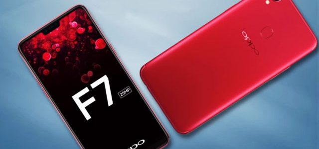 Spesifikasi Oppo F7