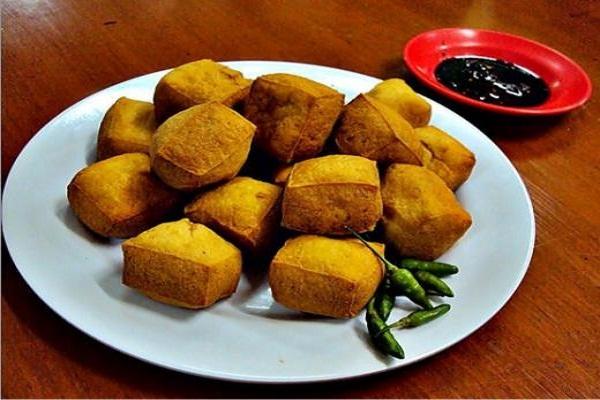 Tahu pong khas Semarang