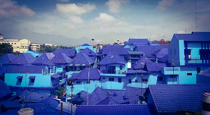 Kampung Biru Arema, Malang_