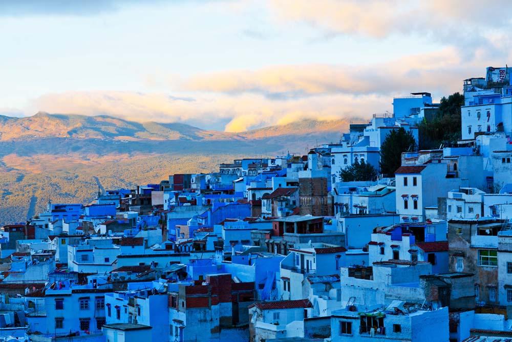 Kampung Chefchaouen, Maroko