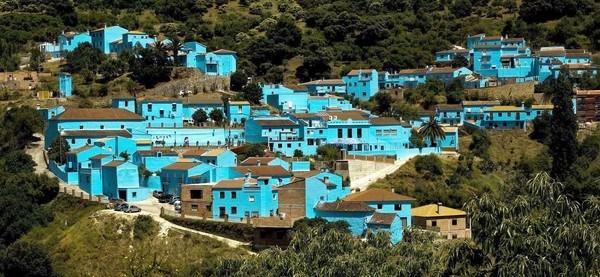 Kampung Juzcar, Spanyol