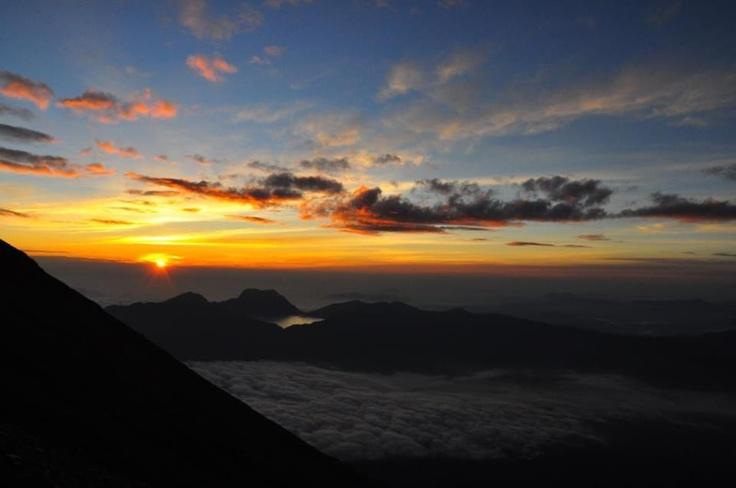 Spot Sunrise Gunung Kerinci