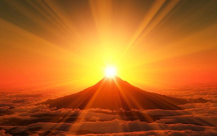 Sunrise terbaik di Indonesia